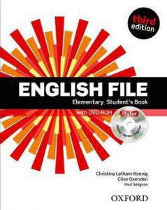 Учебната система English File Elementary в курсовете по общ английски за възрастни в езикова академия Интелекти - Велико Търново.