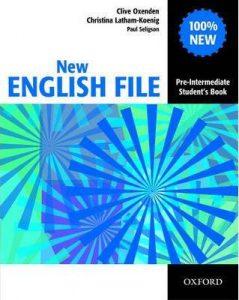 Учебната система English File Pre-intermediate в курсовете по общ английски за възрастни в езикова академия Интелекти - Велико Търново.