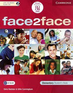 Снимка на учебната система Face2face A1&A2 в курсовете по общ английски език за възрастни в езикова академия Интелекти - Велико Търново.