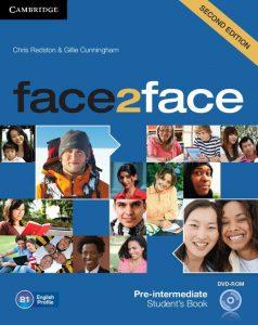 Снимка на учебната система Face2face B1 в курсовете по общ английски език за възрастни в езикова академия Интелекти - Велико Търново.