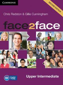 Снимка на учебната система Face2face B2 в курсовете по общ английски език за възрастни в езикова академия Интелекти - Велико Търново.