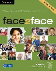 Снимка на учебната система Face2face C1 в курсовете по общ английски език за възрастни в езикова академия Интелекти - Велико Търново.