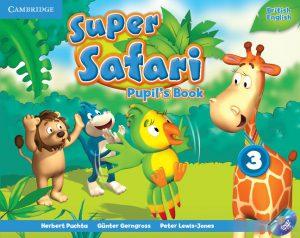Снимка на учебната система Super Safari от курсовете по английски език за деца 4-6 години в езикова академия Интелекти - Велико Търново.