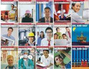 Снимка на учебната система Oxford English For Careers в курсовете по специализиран английски в езикова академия Интелекти - Велико Търново.