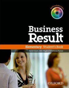 Снимка на учебната система Business Result Elementary от курсовете по бизнес английски език в езикова академия Интелекти - Велико Търново.