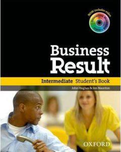 Снимка на учебната система Business Result Intermediate от курсовете по бизнес английски език в езикова академия Интелекти - Велико Търново.