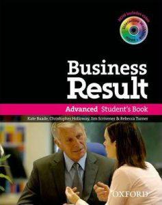 Снимка на учебната система Business Result Advanced от курсовете по бизнес английски език в езикова академия Интелекти - Велико Търново.