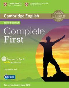 Учебната система Complete First, по която се учи за подоговка за сертификата Cambridge English: First