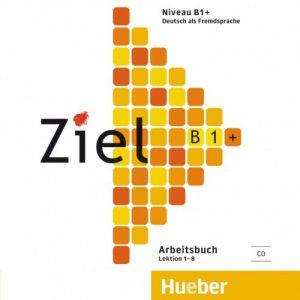 Снимка на учебника Ziel B1, който езикова академия Интелекти-Велико Търново използва в своите курсове по немски език.